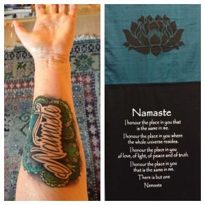 Namaste Tattoo