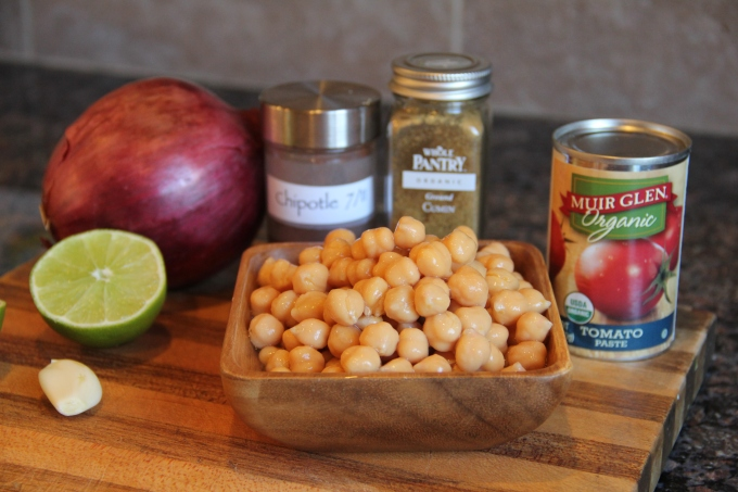 Ingredients for the Chickpea Dip
