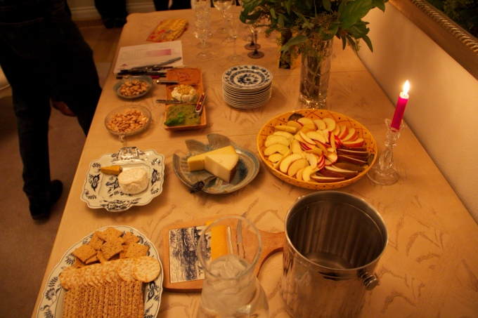 Wine Party Table