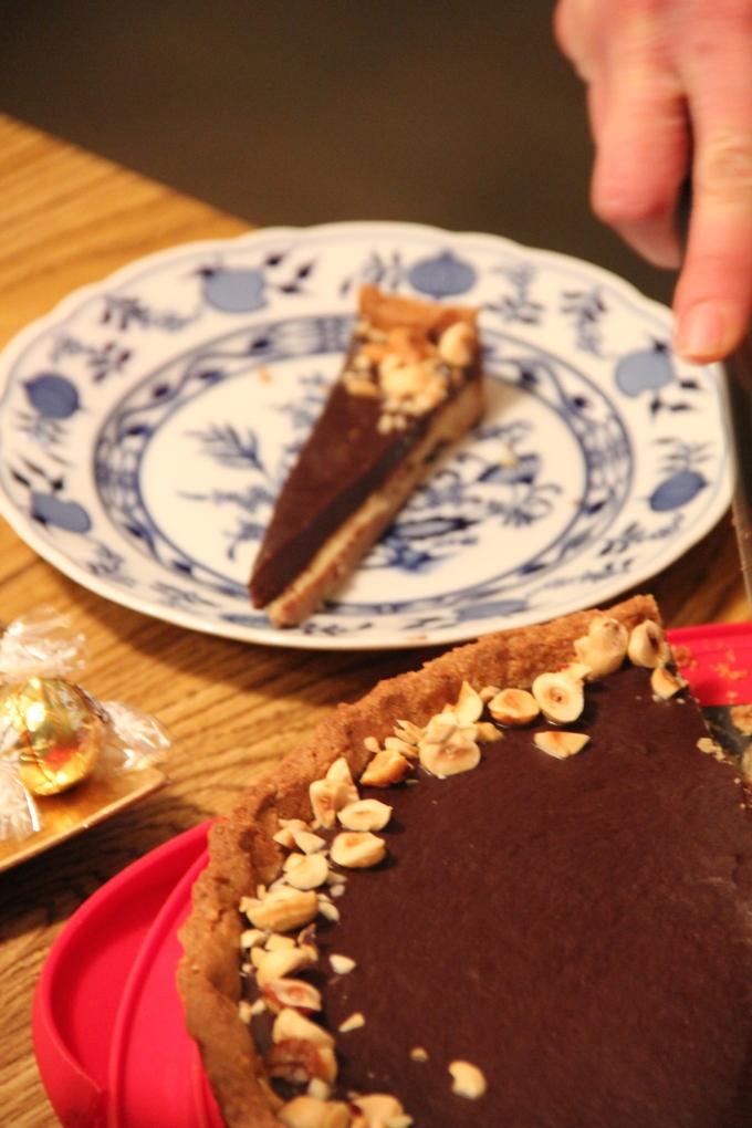 Gillian's Chocolate Hazelnut Torte