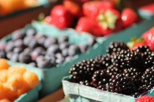 Berries at the Farmers Market