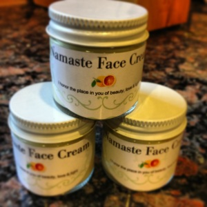Namaste Face Cream I made