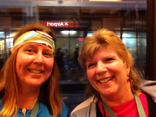 Me & Kathy Davis on the Max