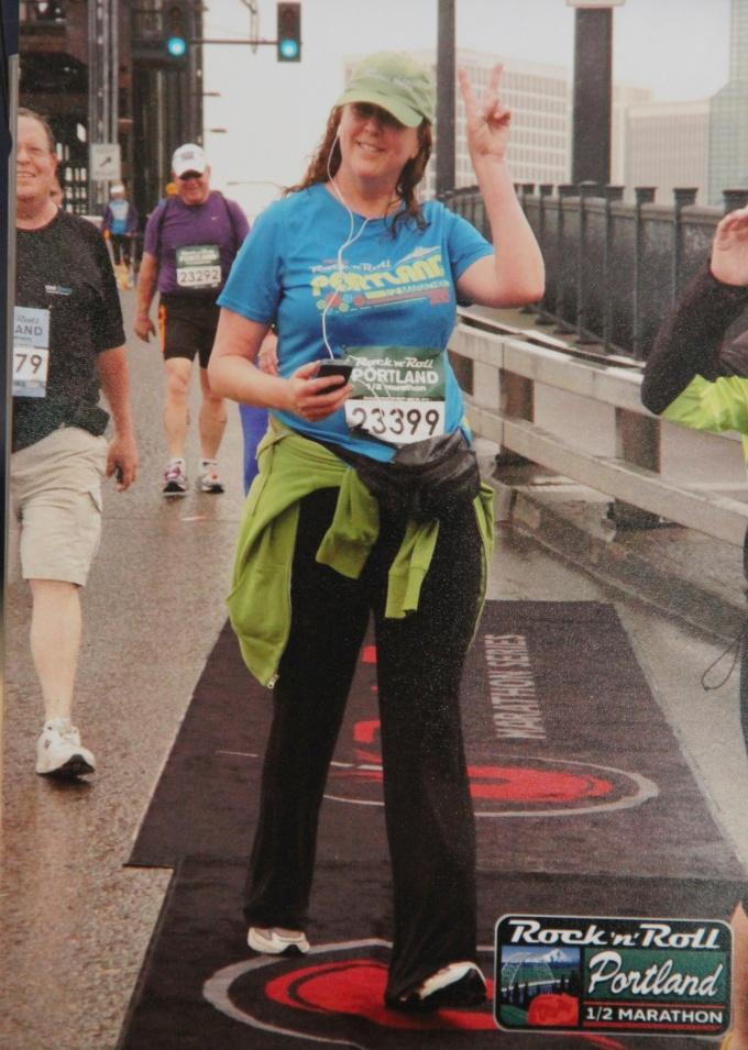 Portland Rock N Roll Half Marathon - 2012
