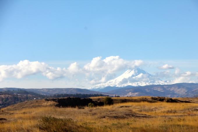 Mt. Hood on the way to Wallowa Lakes
