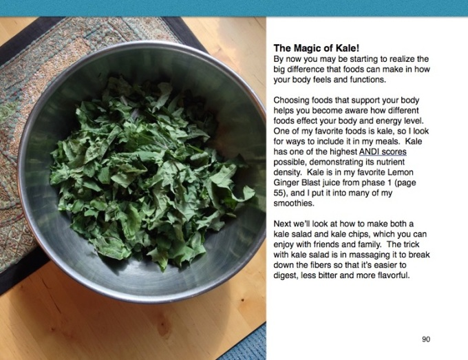 Raw Cleansing Magic of Kale A