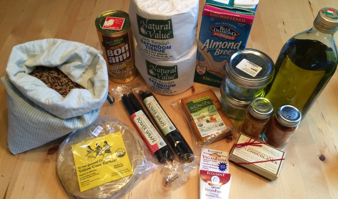 February Challenge – Bring Only Consumables Home