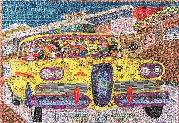 Stickerman Car