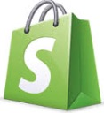 Shopify Logo of bag
