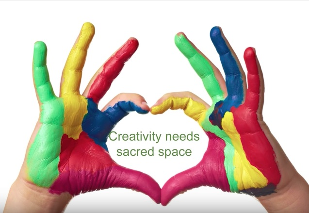 Creativity Needs sacred space