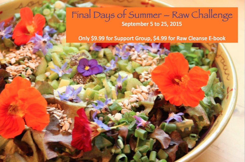 Final Days of Summer - Raw Challenge (FULL page)