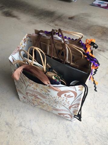 Various gift & shopping bags