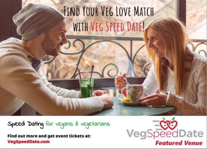 Veg Speed Date couple