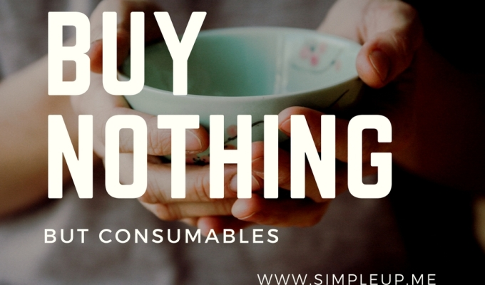 Buy Nothing But Consumables – Round 3