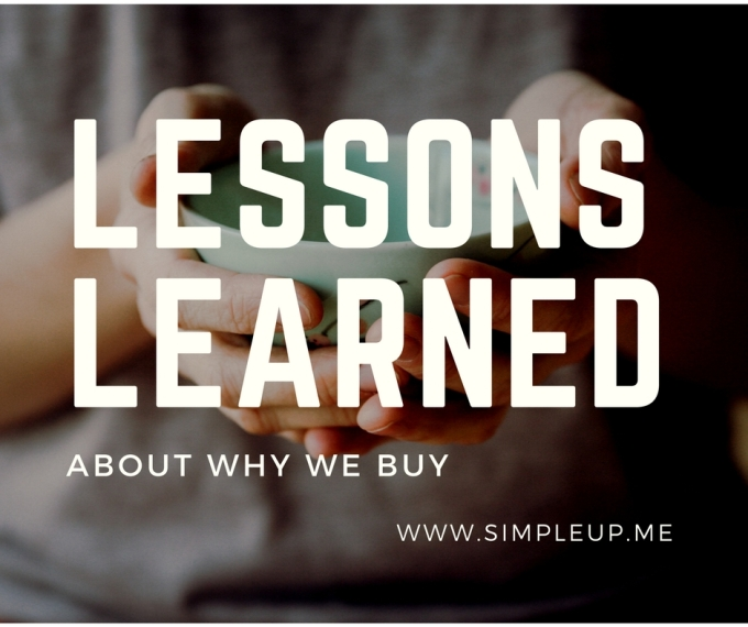 Lessons Learned About Why WeBuy